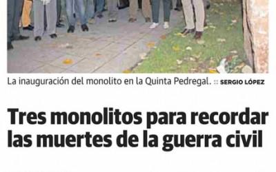 Comunicado de la Logia Jovellanos de Gijón sobre el Monolito de la Quinta Pedregal en Avilés