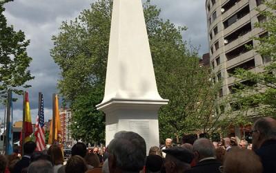 Obelisco masónico y constitucional en Avilés