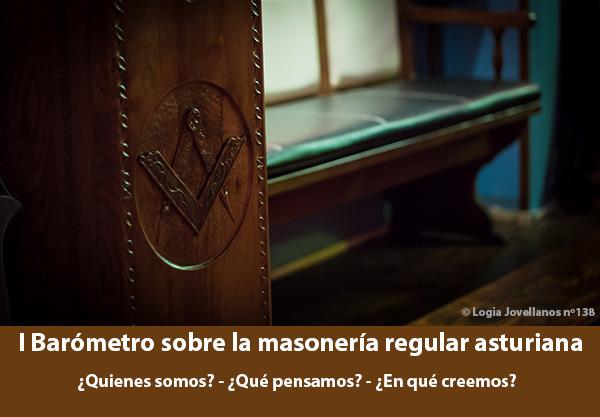Barómetro sobre la masonería regular en Asturias