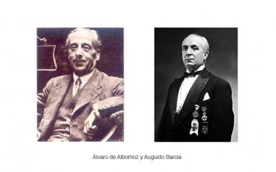 La Logia Jovellanos nº138 agradece al Colegio de Abogados de Madrid la rehabilitación de los masones asturianos Álvaro de Albornoz y Augusto Barcia