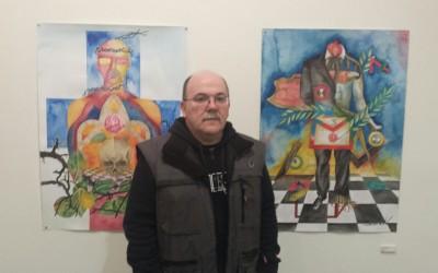 «Símbolo», de Bernardino Rozada, se expone en la Pola hasta el día 25