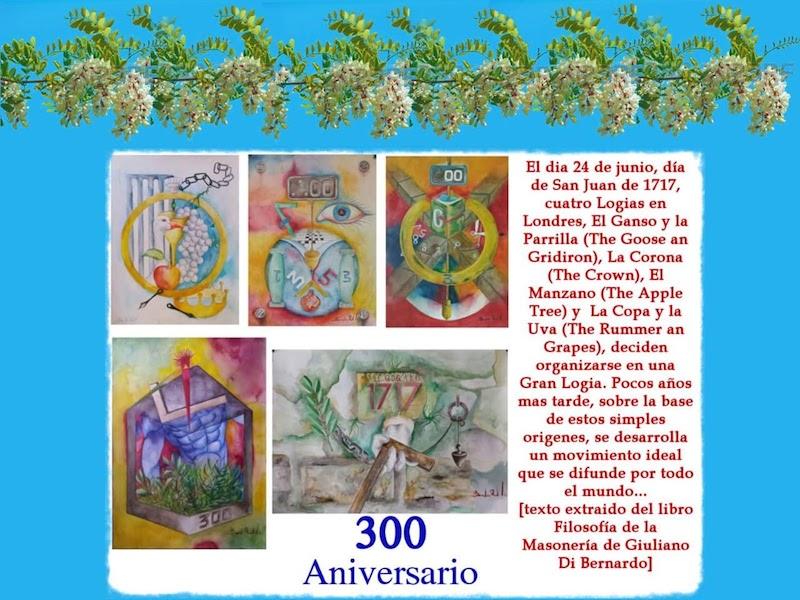 300 años de la Masonería moderna