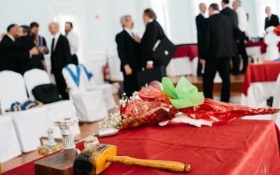 Tenida conjunta para celebrar el 300 aniversario de la masonería moderna